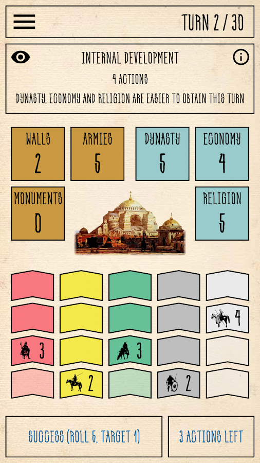 Constantinople Board Game- screenshot
