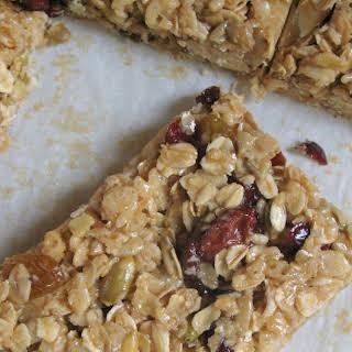 Cranberry-Almond Granola Bars.