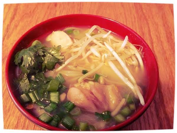 Lemongrass Chicken & Pork Pho Recipe