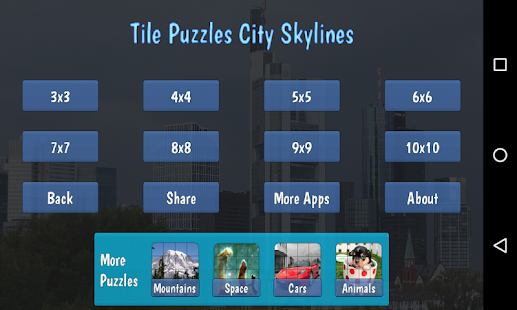 Tile Puzzles · City Skylines- screenshot thumbnail