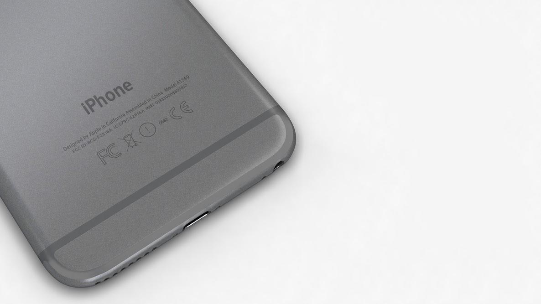 создание модели айфон, создание модели iphone