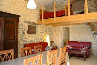 Foto: Gîte les vignes séjour et mezzanine