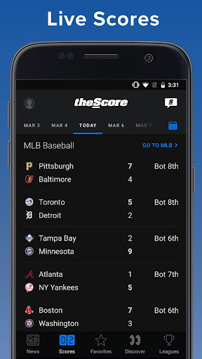 theScore: Live Sports Scores, News, Stats & Videos - Apps on