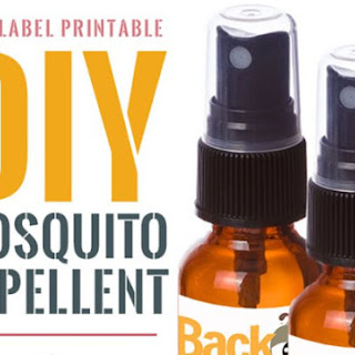 Make Your Own Mosquito Repellent Spray.