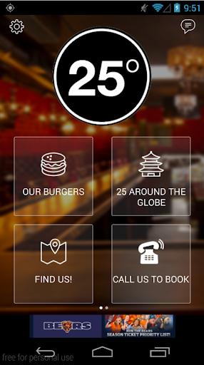 25 Degrees Restaurant