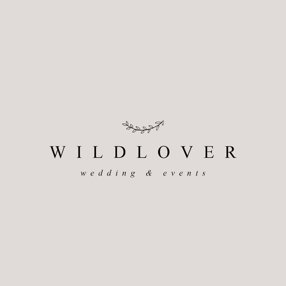 Wildlover Wedding & Events - Logo Template