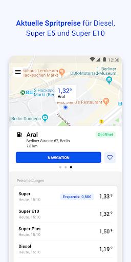 TankenApp mit Benzinpreistrend screenshot 3
