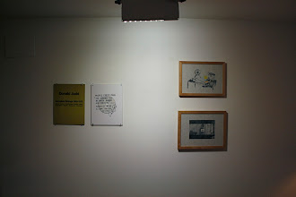 """Photo: LEFT: Edition from """"the possible ties between illness and success"""" 2006-07; RIGHT: drawings from """"the possible ties between illness and success"""" 2006-07"""