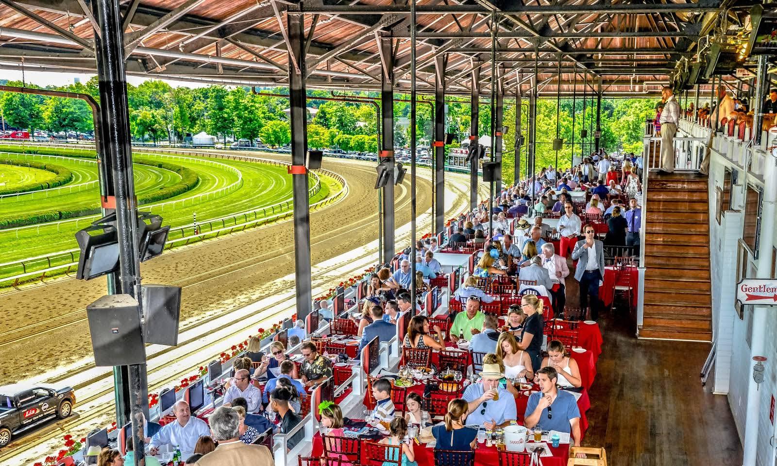 The Turf Terrace Saratoga Race Course New York Racing