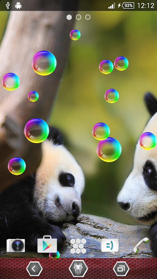 panda live wallpaper android apps on google play