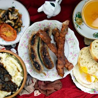 Bangers & Mash - Weasley Family Breakfast