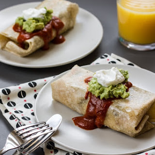 Breakfast Friday | Simple Breakfast Burritos for Two.
