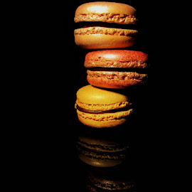 MAC's & REFLECTION by Karen Tucker - Food & Drink Candy & Dessert ( yummy, treat, dessert, sweet treat, lustre macarons, colourful, cakes, macaroons, macarons, food, naughty but nice,  )