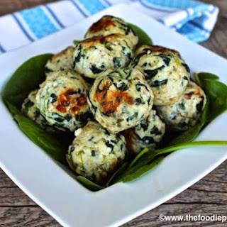 Greek Chicken Meatballs.