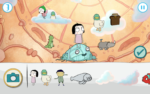 Sarah & Duck The Big Sleepover- screenshot thumbnail