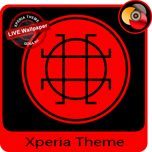 Black & Red | Xperia™ Theme