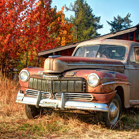 Fall Colors by Gary Winterholler - Transportation Automobiles (  )