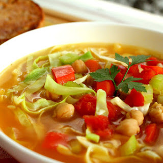 Vegetable Chickpea Soup.