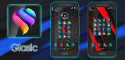 Glasic - Icon Pack app for Android screenshot