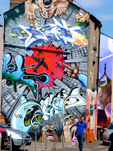 Photo: Just a splash of colour: Sydney Street.