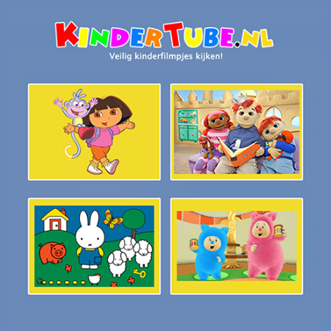 KinderTube.nl- screenshot