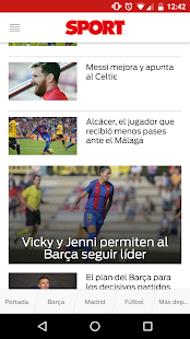 SPORT.es- screenshot thumbnail