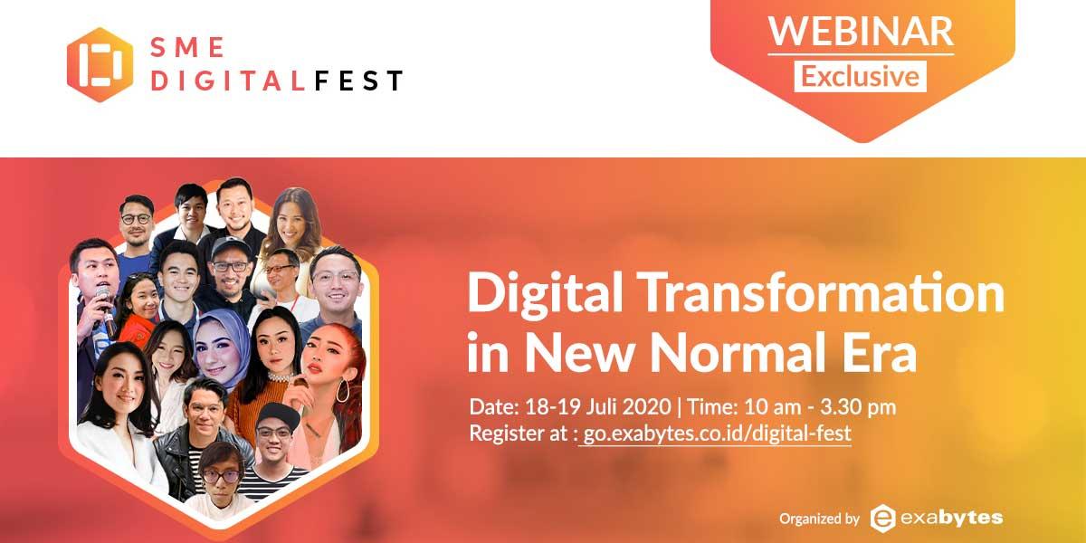Capai 15.500 Views, SME DigitalFest Sukses Diselenggarakan - 2021