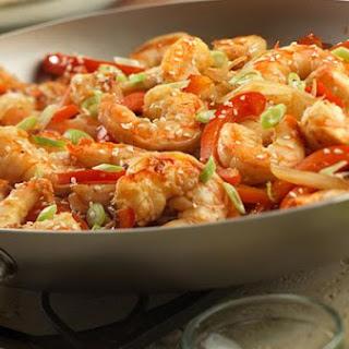 Asian Shrimp Stir-Fry.