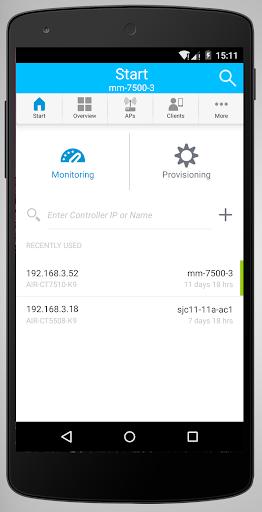 Cisco Wireless screenshot 1