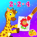 Coloring And Learning Animals - Drawing Book icon