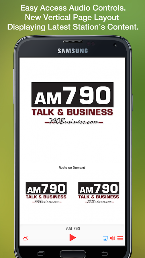 AM 790- screenshot