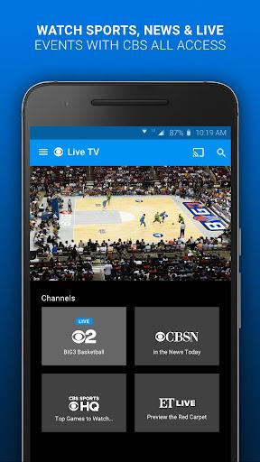 CBS - Full Episodes & Live TV 6.4.0 screenshots 2