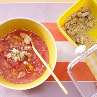 Vitamin-Crunchy Cold Soup.