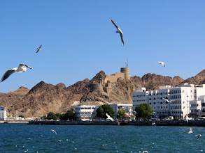 Photo: Muscat - Mutrah Fort and Corniche