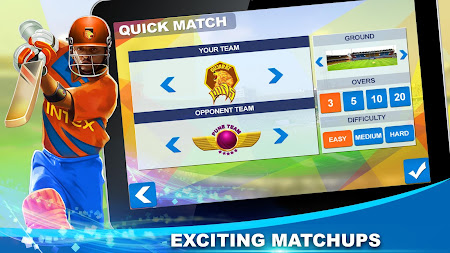 Gujarat Lions T20 Cricket Game 2.0.43 screenshot 1605602