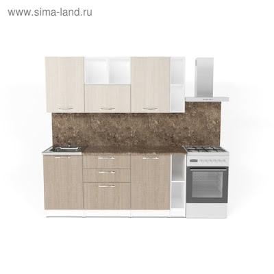 Кухонный гарнитур Ольга макси 4 1800 мм