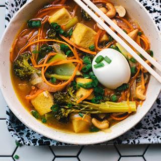 Carrot-Noodle Vegetarian Ramen.