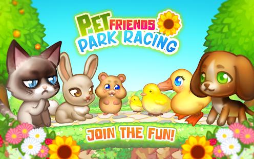 Pet Friends Park Racing - náhled
