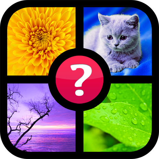 Guess the word ~ 4 pics 1 word (game)
