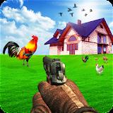Crazy Farm Chicken Shooting Mission 2018