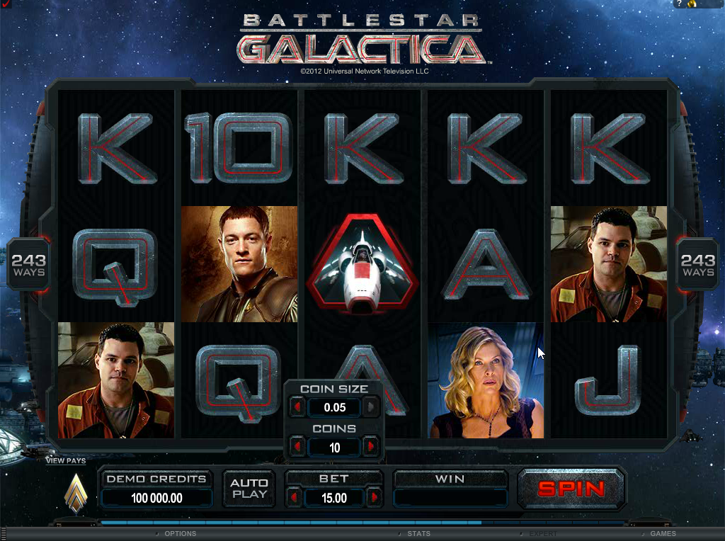 Battlestar Galactica Slots Game Review