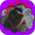 Good night wishes stickers icon