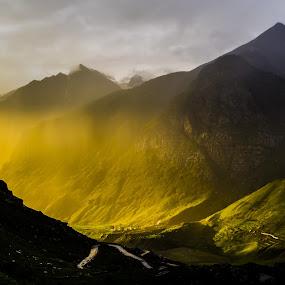 Valley of God himself by Akash Deep - Landscapes Mountains & Hills