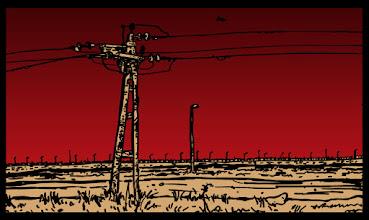 Photo: Detalj iz stripa Pustinja Detail from a comic The Desert