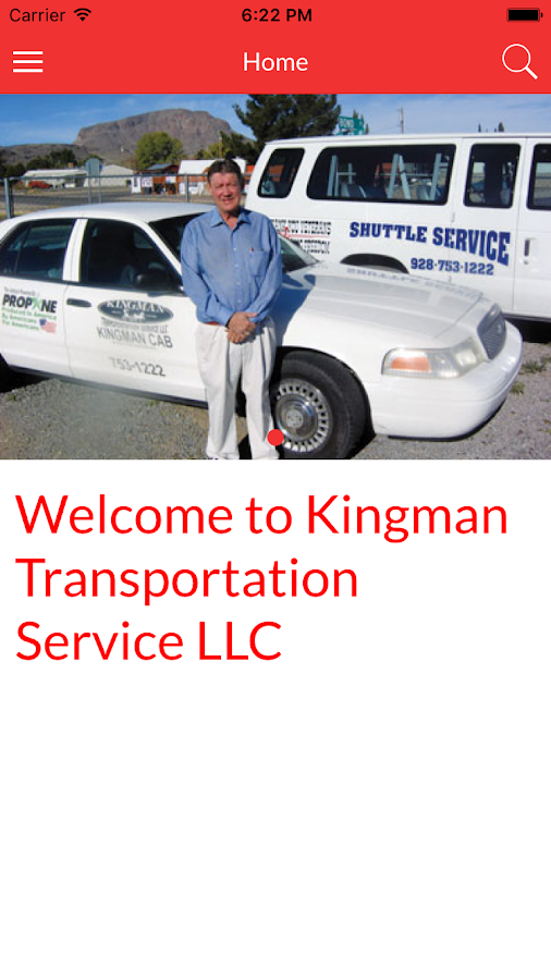 Kingman Transportation- screenshot