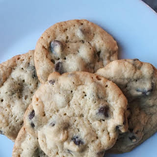 Chocolate Chip Malted Milk Cookies.
