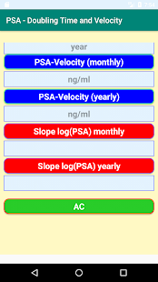 Download PSA- Calculations of Doubling Time and Velocity For PC Windows and Mac apk screenshot 2