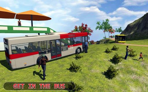 Modern Offroad Uphill Bus Simulator 1.4 screenshots 16