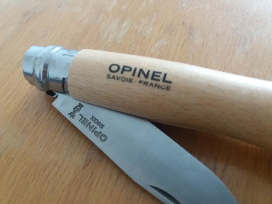 opinel blade #8 folder knife