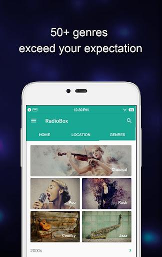 RadioBox- Free Music, Radio FM 1.5.7-170626021 screenshots 1